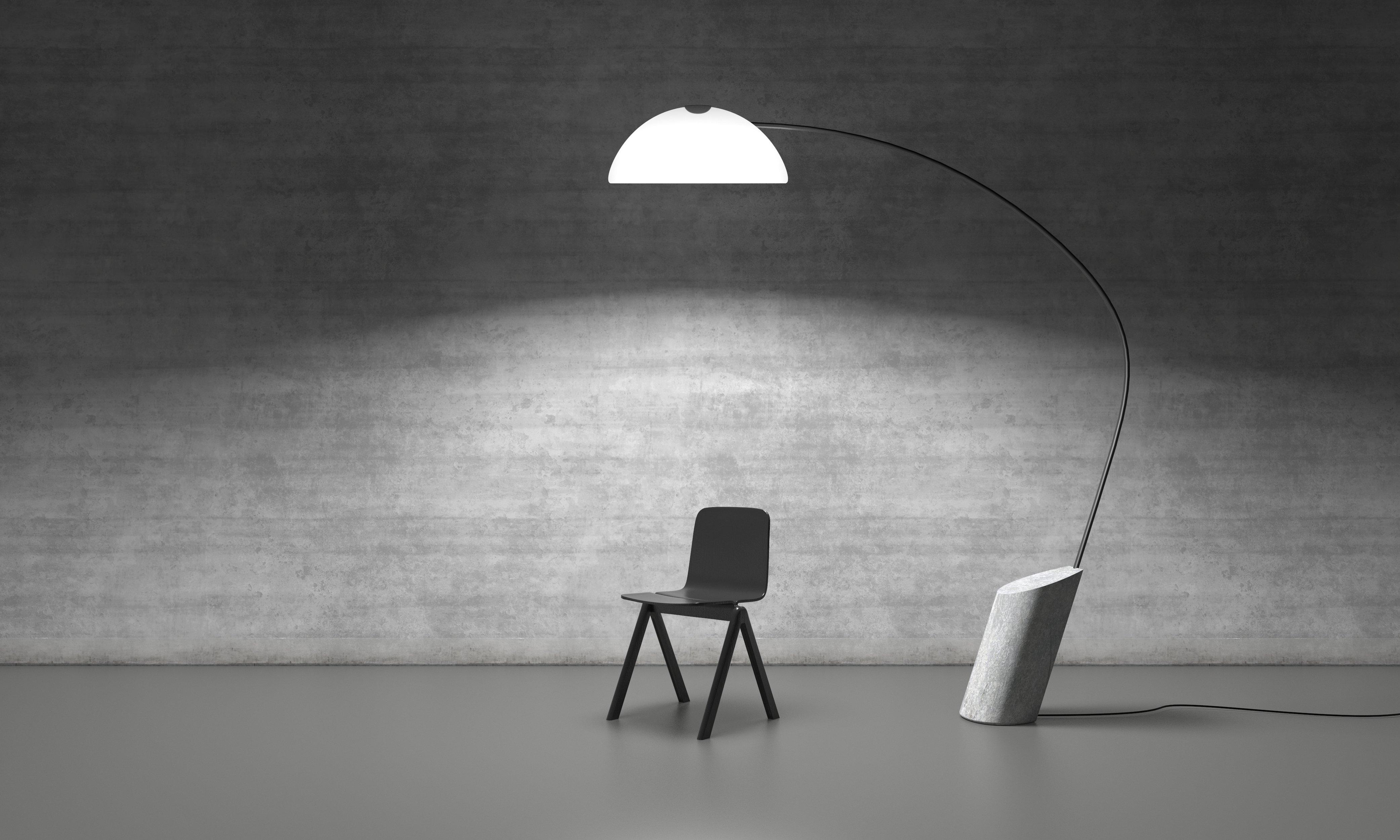 lampara pertiga diseño minimalista